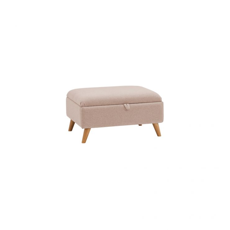 Cooper Storage Footstool in Sprite - Beige