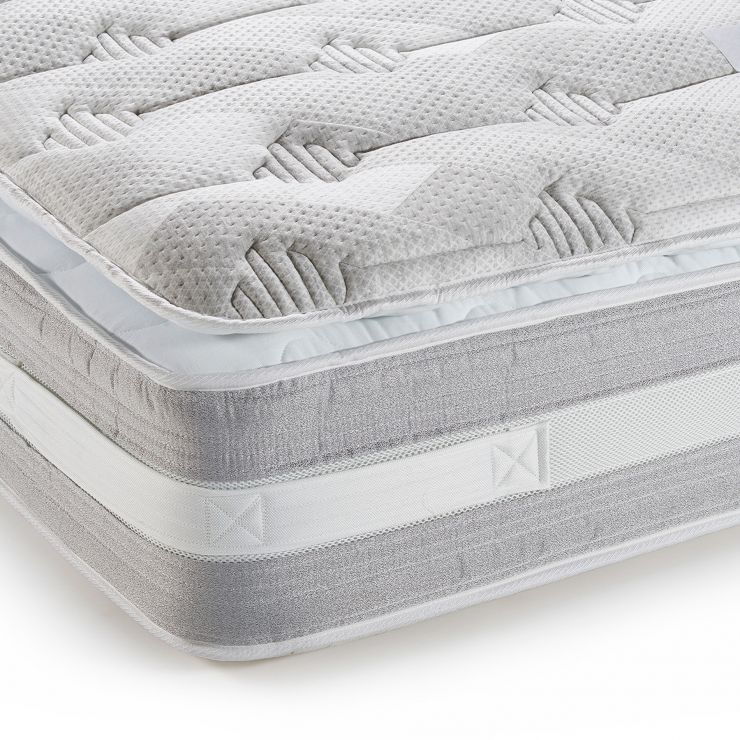 Corsham Pillow-top 3000 Pocket Spring Double Mattress - Image 1