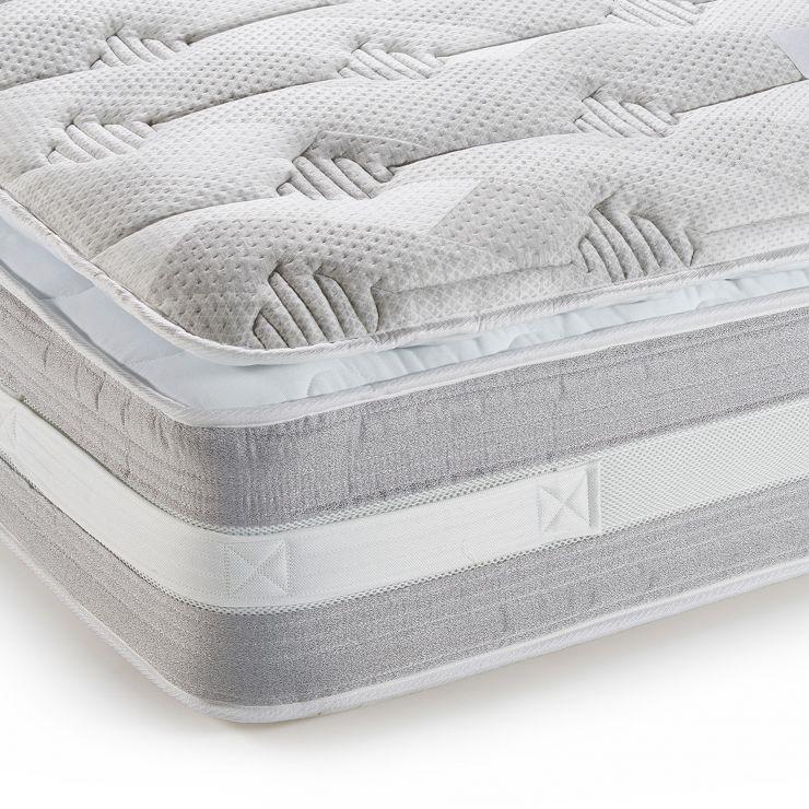 Corsham Pillow-Top 3000 Pocket Spring Single Mattress - Image 3