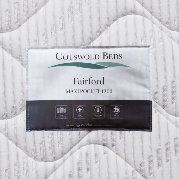 Fairford Maxi Pocket 1200 Pocket Spring Single Mattress