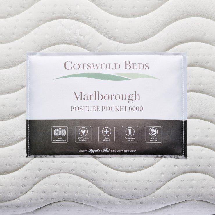 Marlborough Posture Pocket 6000 Pocket Spring Super King-size Mattress