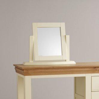 Country Cottage Painted Dressing Table Mirror