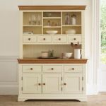 Country Cottage Natural Oak and Painted Large Dresser - Thumbnail 3