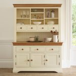 Country Cottage Natural Oak and Painted Large Dresser - Thumbnail 2