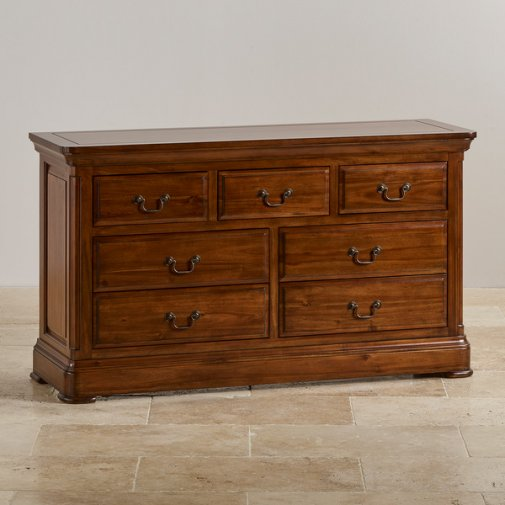 Cranbrook Solid Hardwood 3+4 Chest of Drawers