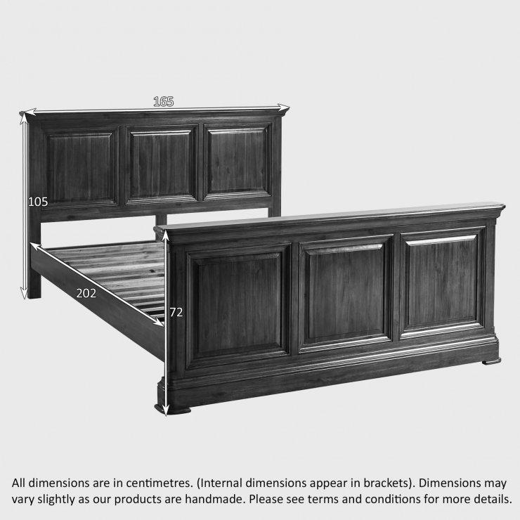 Cranbrook Solid Hardwood 5ft King-Size Bed