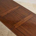 Cranbrook Solid Hardwood 5ft x 3ft Extending Dining Table - Thumbnail 6