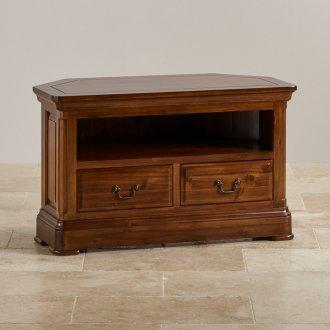 Cranbrook Solid Hardwood Corner TV Cabinet