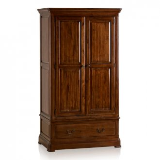 Cranbrook Solid Hardwood Double Wardrobe