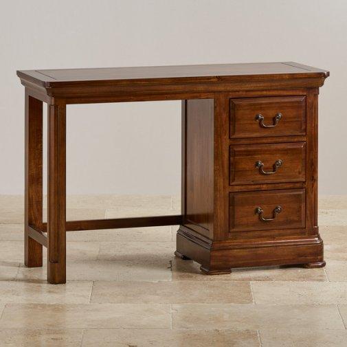 Dressing tables and vanity tables oak furnture land for Table 52 oak brook