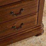 Cranbrook Solid Hardwood Glazed Display Cabinet - Thumbnail 6