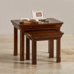Cranbrook Solid Hardwood Nest of Tables - Thumbnail 5