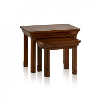Cranbrook Solid Hardwood Nest of Tables