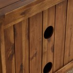 Cranbrook Solid Hardwood Small TV Cabinet - Thumbnail 8