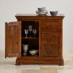 Cranbrook Solid Hardwood Storage Cabinet - Thumbnail 6