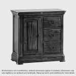 Cranbrook Solid Hardwood Storage Cabinet - Thumbnail 9