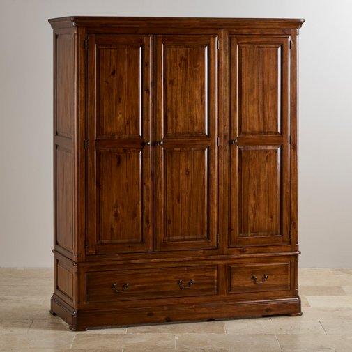 Cranbrook Solid Hardwood Triple Wardrobe