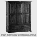 Cranbrook Solid Hardwood Triple Wardrobe - Thumbnail 4