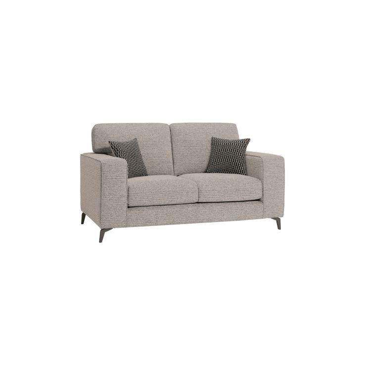 Cube Stone Fabric 2 Seater Sofa