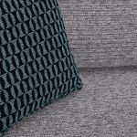 Cube Grey Fabric 2 Seater Sofa - Thumbnail 8