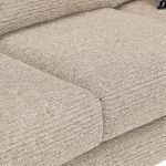 Cube 2 x 2 Beige Corner Sofa in Fabric - Thumbnail 5