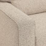 Cube 2 x 2 Beige Corner Sofa in Fabric - Thumbnail 4