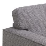 Cube Grey Armchair in Fabric - Thumbnail 5