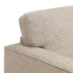 Cube Beige Armchair in Fabric - Thumbnail 5