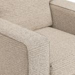 Cube Beige Armchair in Fabric - Thumbnail 6