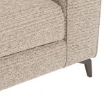 Cube Beige Armchair in Fabric - Thumbnail 7