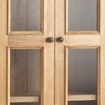 Edinburgh Natural Solid Oak Display Cabinet - Thumbnail 3