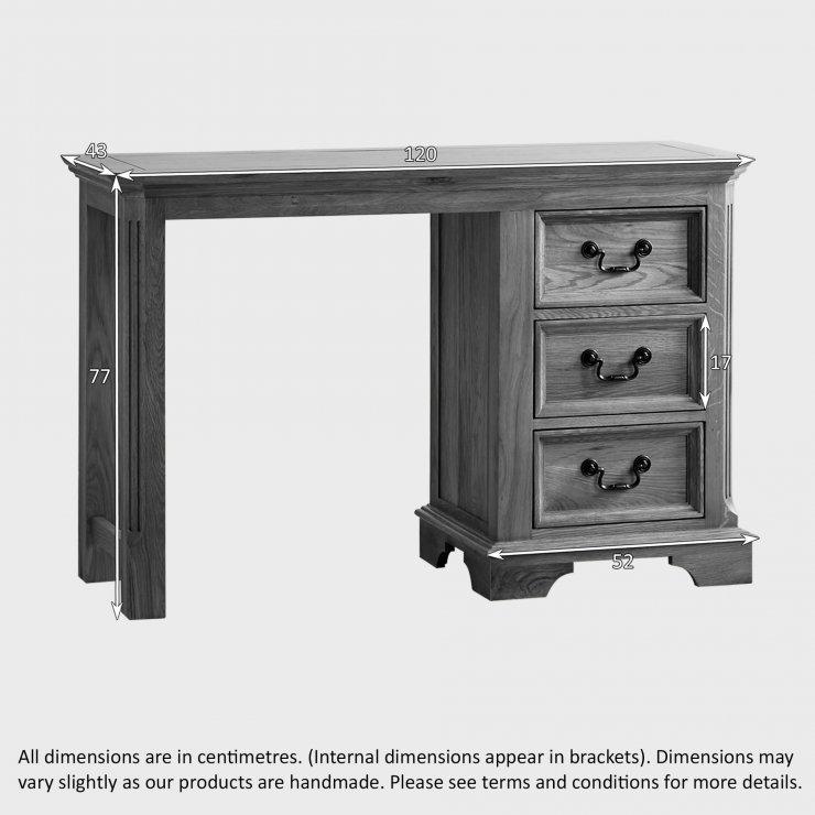Edinburgh Natural Solid Oak Dressing Table
