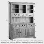 Edinburgh Natural Solid Oak Large Dresser - Thumbnail 5