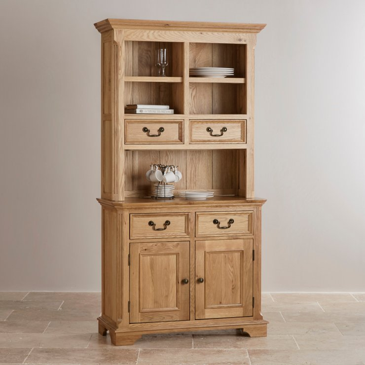 Edinburgh Natural Solid Oak Small Dresser