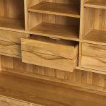 Ellipse Natural Solid Oak Large Dresser - Thumbnail 4