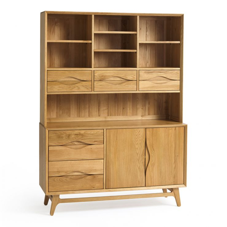 Ellipse Natural Solid Oak Large Dresser