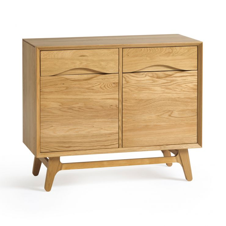 Ellipse Natural Solid Oak Small Sideboard