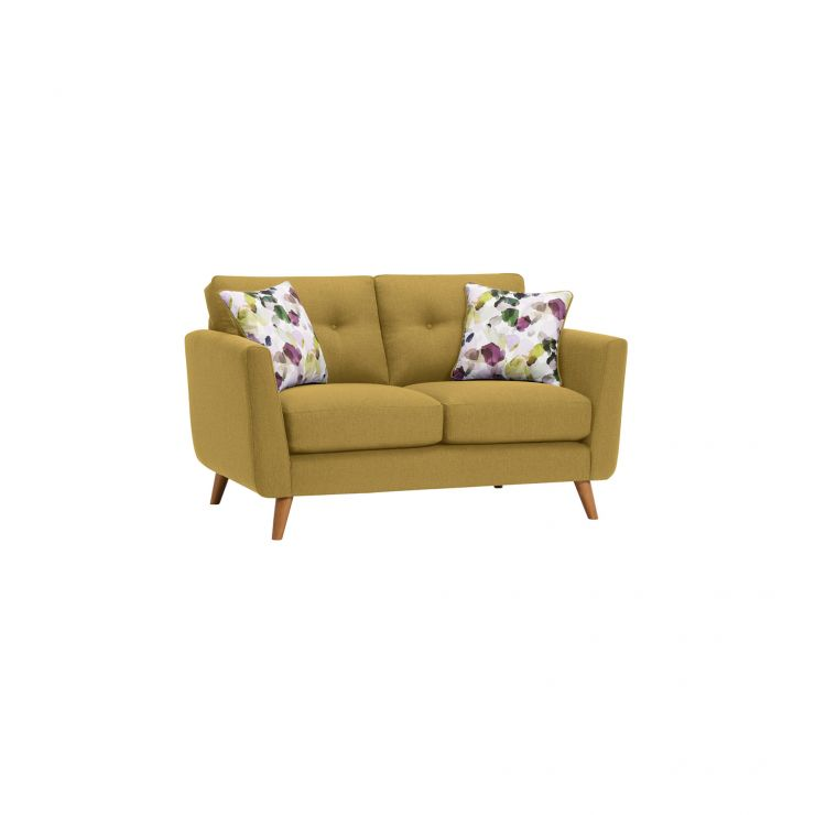 Evie 2 Seater Sofa in Lime Fabric