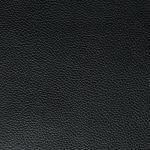 Finley Storage Footstool - Black Leather - Thumbnail 3