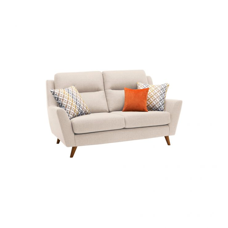 Fraser 2 Seater Sofa in Icon Fabric - Ivory