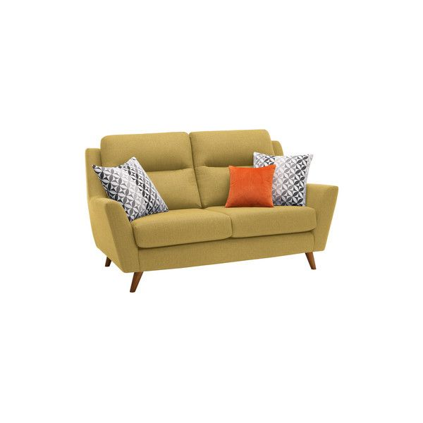 Fraser 2 Seater Sofa in Icon Fabric - Lime
