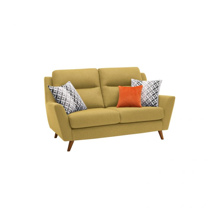 Fraser 2 Seater Sofa in Icon Fabric - Lime - Image 10