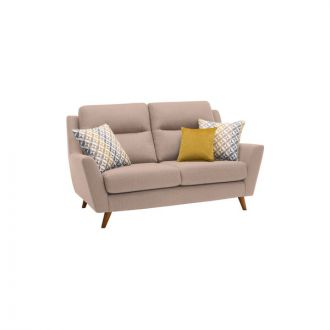 Fraser 2 Seater Sofa in Icon Fabric - Mink
