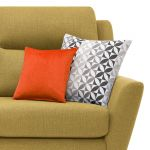 Fraser 3 Seater Sofa in Icon Fabric - Lime - Thumbnail 5