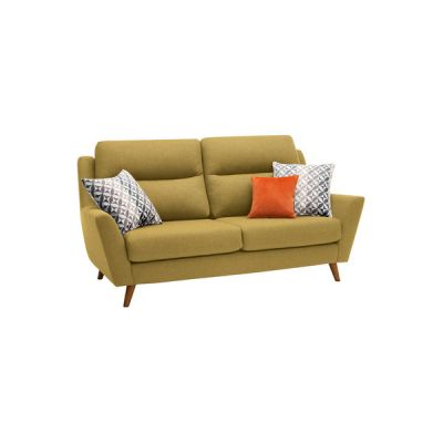 Fraser 3 Seater Sofa in Icon Fabric - Lime