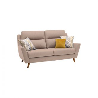 Fraser 3 Seater Sofa in Icon Fabric - Mink
