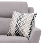 Fraser Armchair in Icon Fabric - Silver - Thumbnail 5