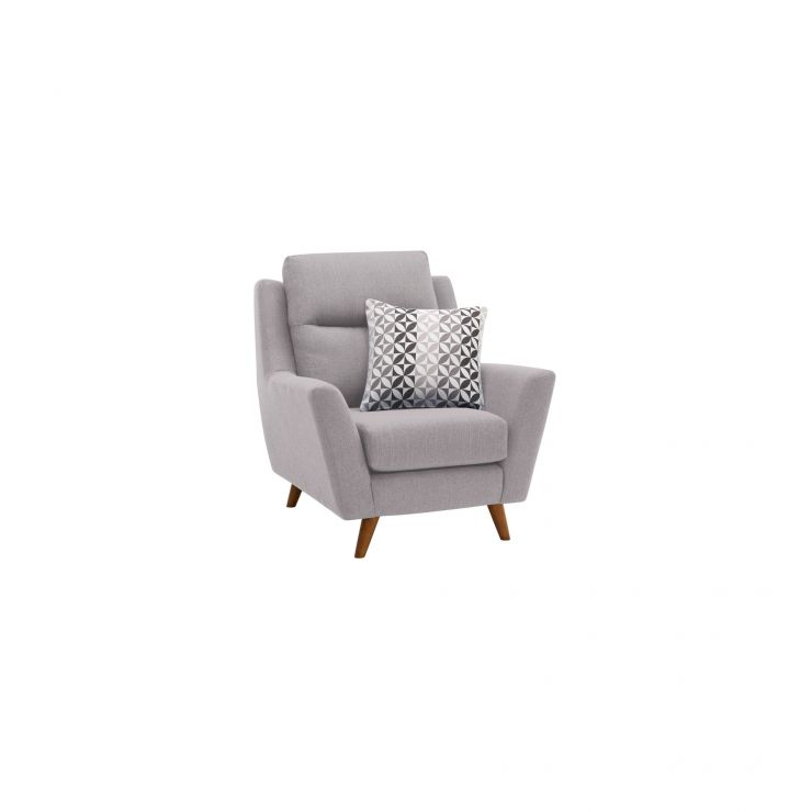 Fraser Armchair in Icon Fabric - Silver