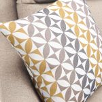 Fraser Left Hand Corner Sofa in Icon Fabric - Ivory - Thumbnail 8