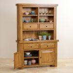 Hercules Rustic Solid Oak Small Dresser - Thumbnail 5